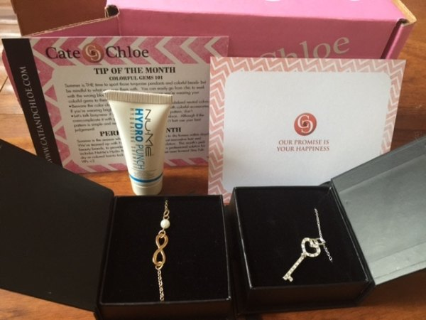 Cate & Chloe jewelry subscription boxes