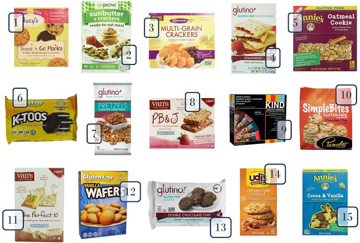 Are you looking for gluten free snacks that you can buy online? We found 15 popular GF snack options you can keep in your pantry.
