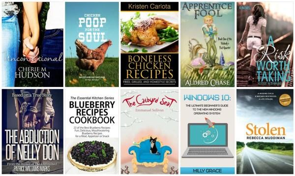 10 Free Kindle Books 8-28-15