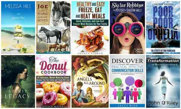 10 Free Kindle Books 10-5-15