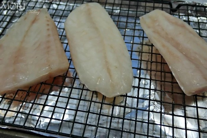 Broiled Alaska Rockfish