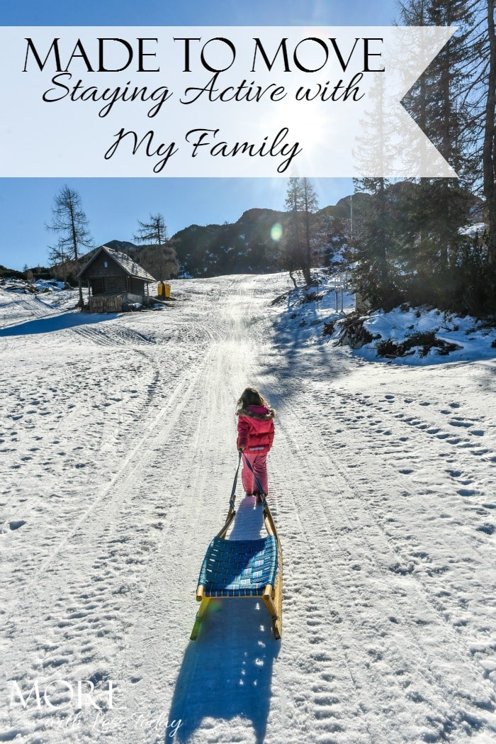 Osteo Bi-Flex® Made to Move ~ Staying Active with My Family - More with Less Today