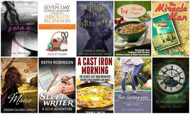 10 Free Kindle Books 2-9-16