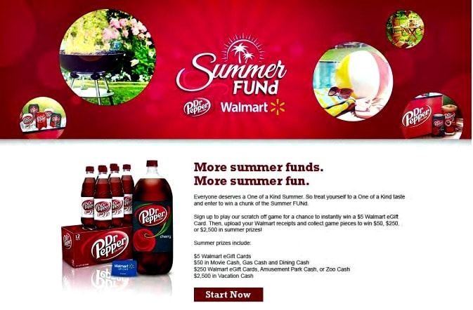 Summer #FUNd with Dr Pepper contest