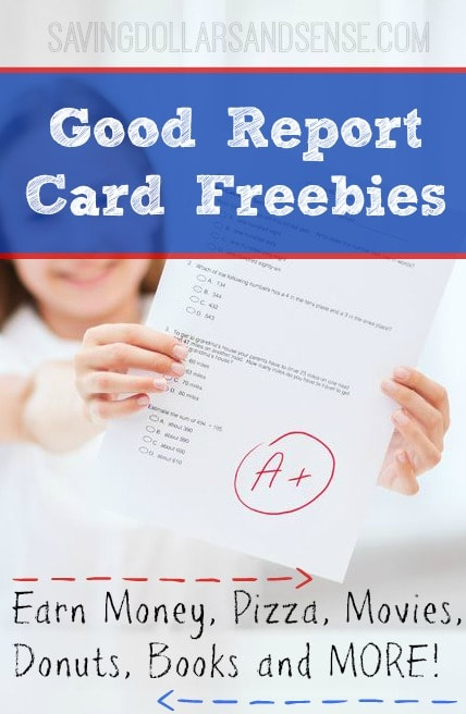 Are you looking for good report card freebies? We found a master list of stores and restaurants rewarding kids with freebies