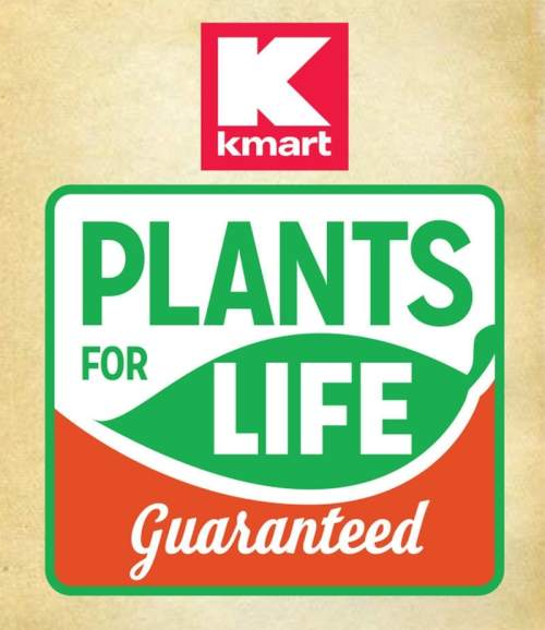 What is Kmart Plants for Life Guarantee?