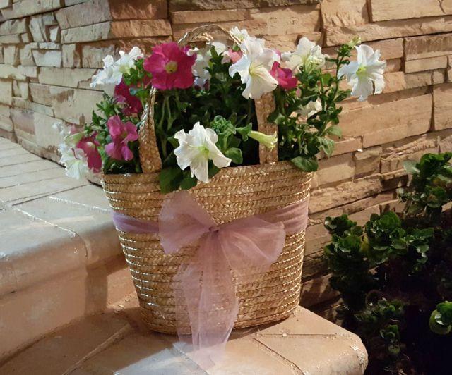 DIY Gift for Mom Purse Planter