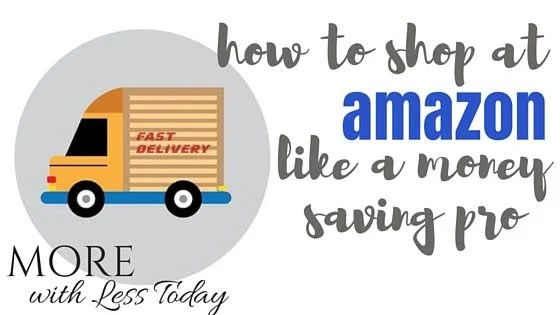 Read money saving tips for shopping at Amazon.com from an expert saver. Try these 12 different ways to save money when shopping through Amazon.com.