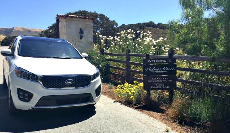 Are you looking for the perfect car for your next driving vacation? We love the 2016 Kia Sorrento that we test drove on our recent trip to Carmel.