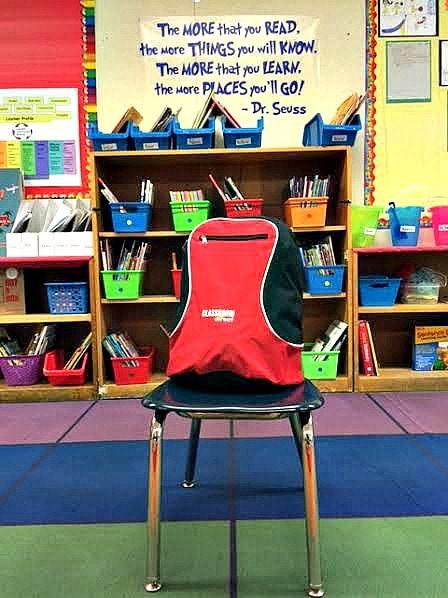 Classroom Direct #GivingBackPacks.