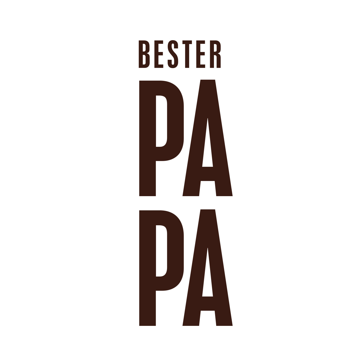 """Paper Light Shade """"BESTER PAPA"""" - The Special One"""