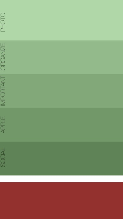 iPhone Organizer for Folders   Free Download Available