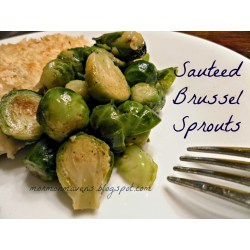 Alluring Brussels Sprouts Get A Bad But If Cooked Y Are Is A Simply Sauteed N Slightly Steamed Recipe To Get Some Good Sauteed Brussels Sprouts Mormon Mavens