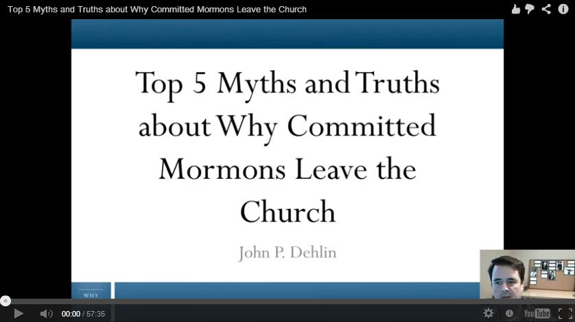Top 5 Myths and Truths about Why Committed Mormons Leave ...