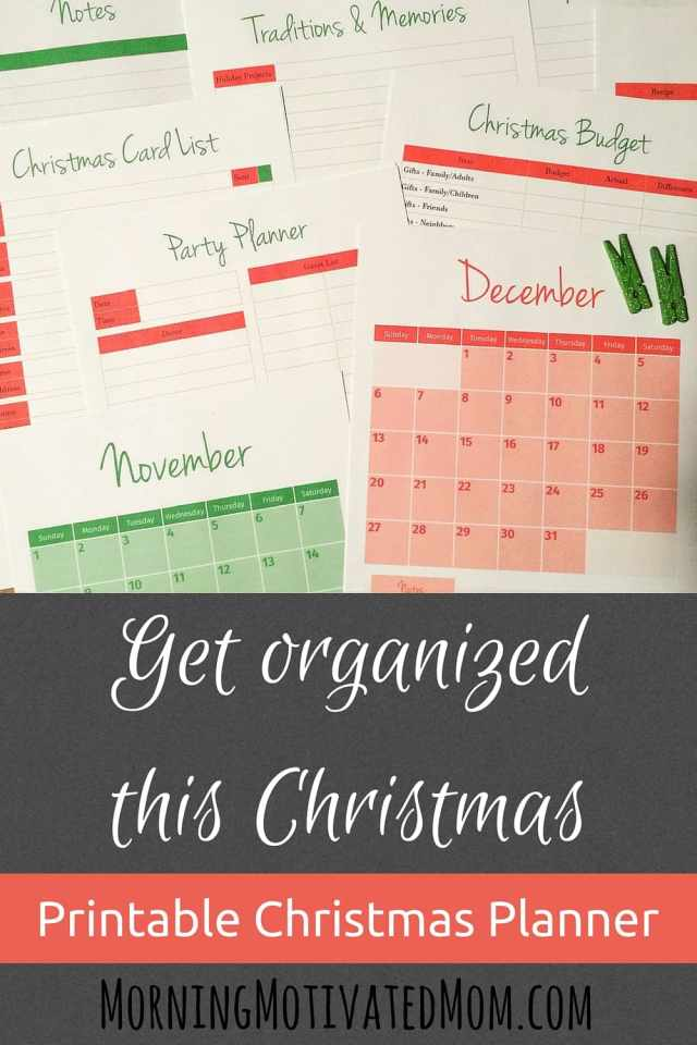 Get Organized this Christmas