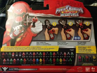 Legendary Morpher Back of the Box
