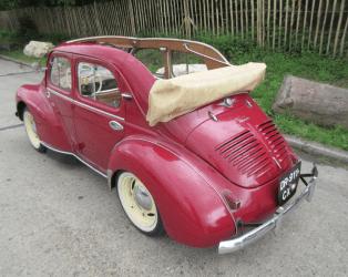 Renault 4 CV Découvrable