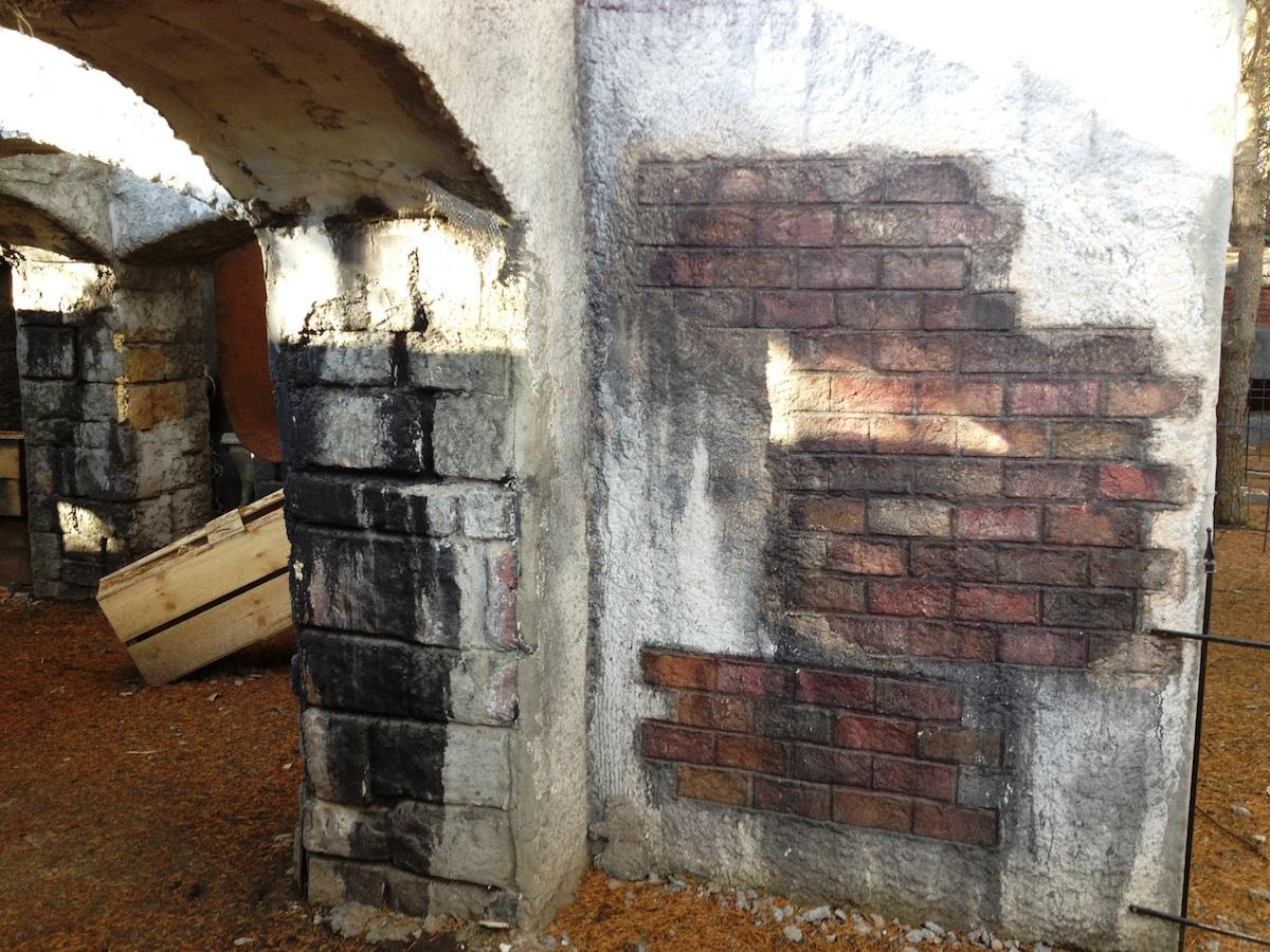 Perky Stucco Over Brick Steps Stucco Over Brick Fireplace Exterior Spookey Woods Spider Lath Spookey Woods Brick Stucco Sprayer Stucco Sprayers houzz 01 Stucco Over Brick