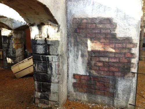 Medium Of Stucco Over Brick