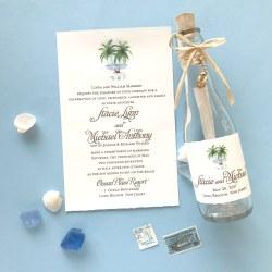 Small Of Beach Wedding Invitations