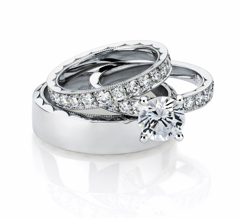 trio wedding ring sets trio wedding rings wedding ring