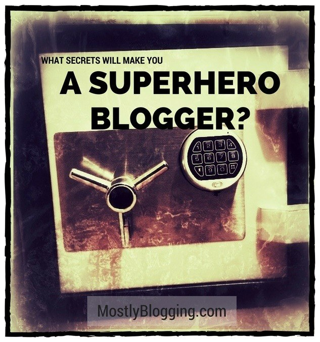 Click to see how you can be a superhero blogger instead of an ignored #blogger.