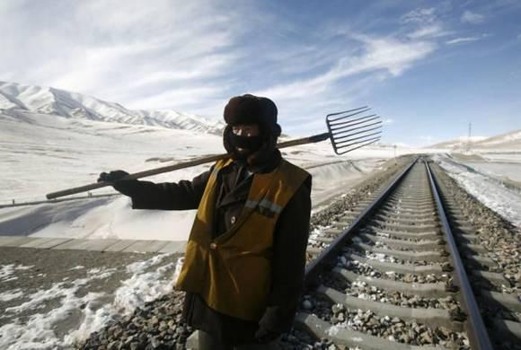 Railway construction China 10 Railway construction in China
