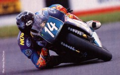 Jamie - Elbow Down, Aprilia 250cc 1995