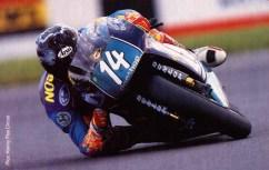 Jamie - Elbow Down, Aprilia 250cc 1995