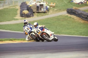 Schwantz and Rainey, Brands Hatch