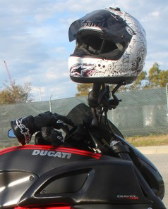 The Ducati Diavel is easy to ride and lots of fun