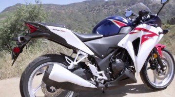 The Sporty CBR is great starter bike but it's styling will attract the law