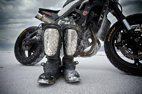 Alpinestars Boots at Bonneville