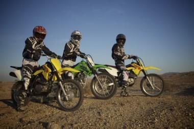 3 bikes, 3 girls, 3 big smiles