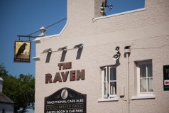 The famous Raven pub