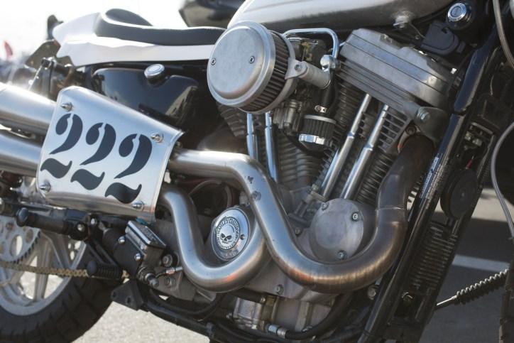 Flat Track Harley
