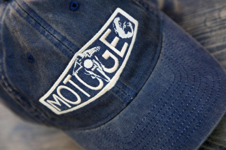 Navy MotoGeo Baseball Cap.