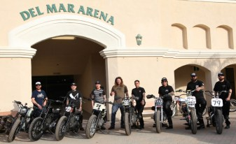 The Harley Boys.