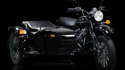 Ural Dark Force Sidecar Motorcycle