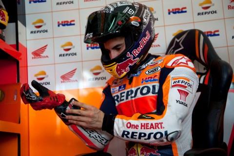 Marquez Alpinestars gloves