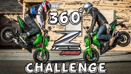 360° Z125Pro Challenge