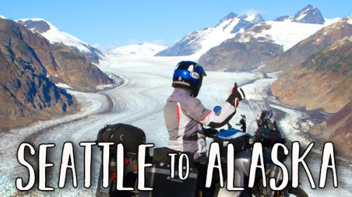 Seattle to Alaska / Honda Africa Twin