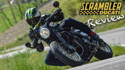 Cafe Racer Ducati Scrambler / MotoGeo Review