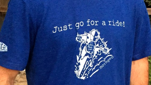 Just Go For a Ride T-Shirt