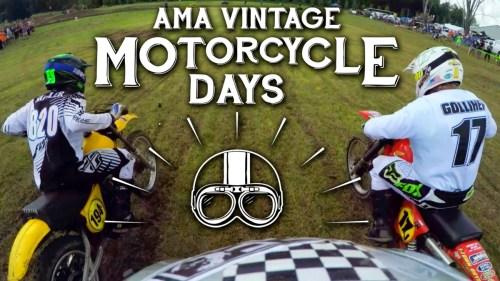 1978 KTM 250 / Vintage MX / Onboard MotoGeo
