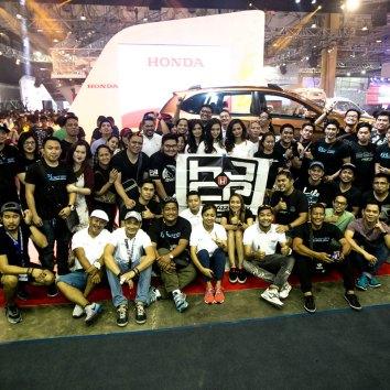 Honda Car Club at the 6th Philippine International Motor Show