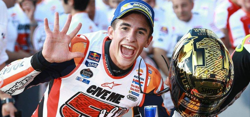 Marc Marquez is MotoGP World champion