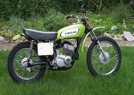 1972 F81M 247cc Greenstreak. 30 HP at 7000 rpm. 230 lbs.