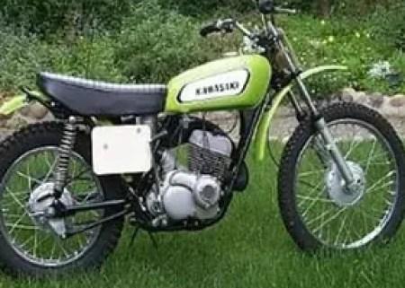 1972 F81M 247cc Greenstreak. 30 HP at 7000 rpm. 230 lbs.