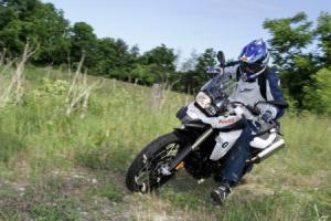 Old gravel and dirt roads are where the F800GS shines. Plenty of power and good stability make for a surprisingly quick ride.